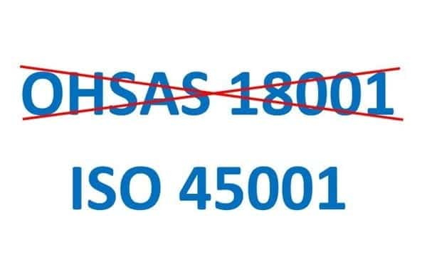 OHSAS 18001 vs ISO 40001