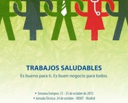 Jornada «Trabajando juntos hacia una mejor de la Seguridad y Salud en el Trabajo»