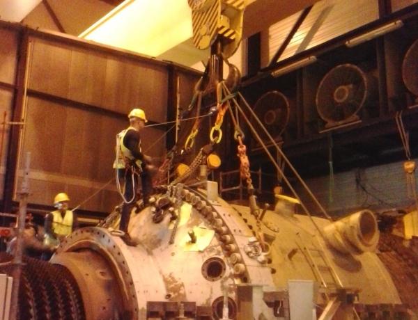 Coordinación de actividades empresariales en las paradas de centrales de ciclo combinado de gas natural FENOSA