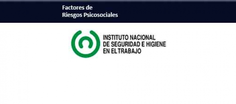 PUBLICACION DEL INSHT ESTRES Y RIESGOS PSICOSOCIALES