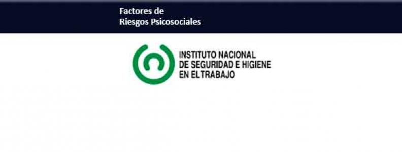 Publicación del INSHT estrés y riesgos psicosociales